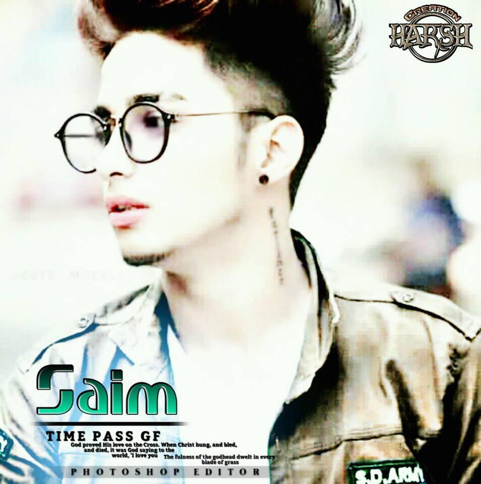 Stylish Dp Smart Boy Pic Saim Name