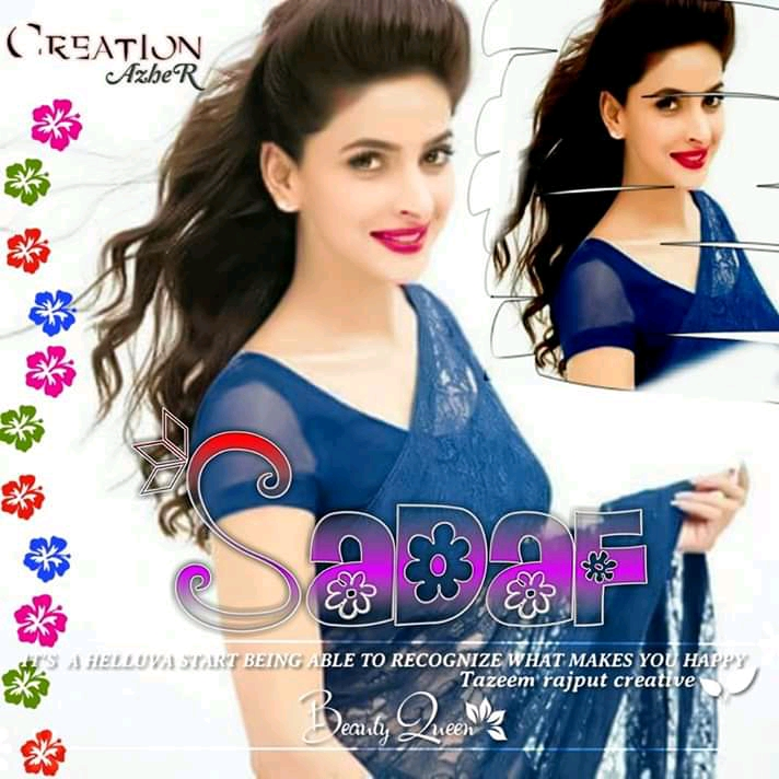 Girls Dpz Sadaf Name For WhatsApp Fb