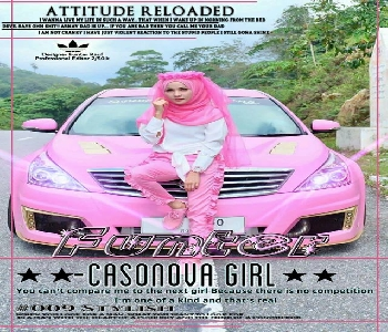 attitude-girl-dp-with-her-car