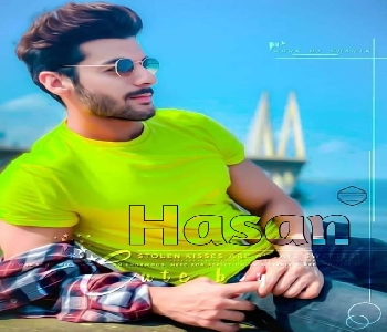 Cute Handsome Boy Hassan Name Hd Wallpaper Dp Pic