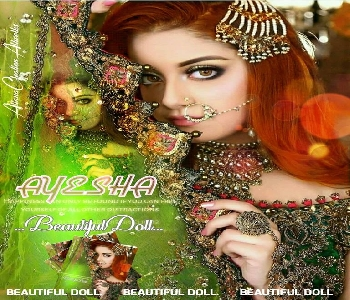 stylish-girl-bride-ayesha-name-pic-for-dp