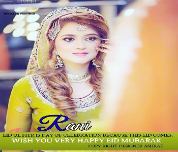 stylish-girl-rani-name-eid-mubarak-pic-for-dp