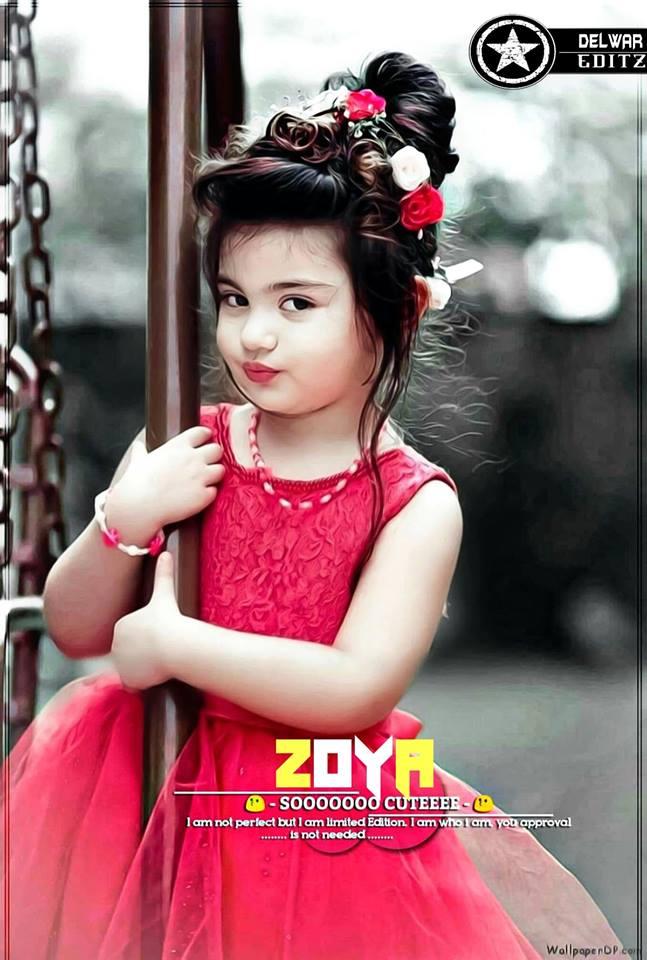 Very Cute Baby Images Zoya Name Dp